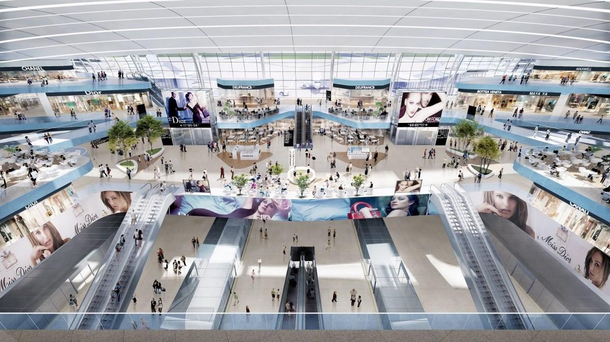 Shenzen Airport Satellite Concourse © Aedas