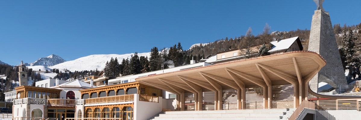 Le Pavillon Klum à St Moritz remis à neuf ouvre ses portes