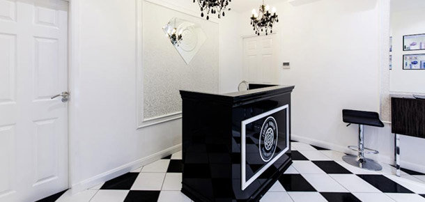 Sklep Forever Flawless w Edynburgu. Projekt: Michel Design