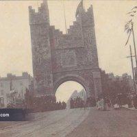 1900 - Royal Triumphal Archway, Leeson Street, Dublin