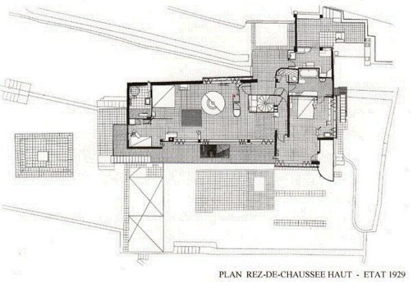 Eileen Gray E1027 Floor Plan Eileen Gray E 1027