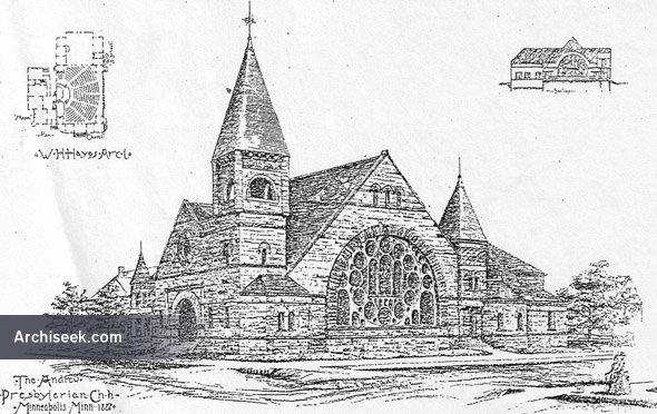 1887 - Andrew Presbyterian Church, Minneapolis, Minnesota