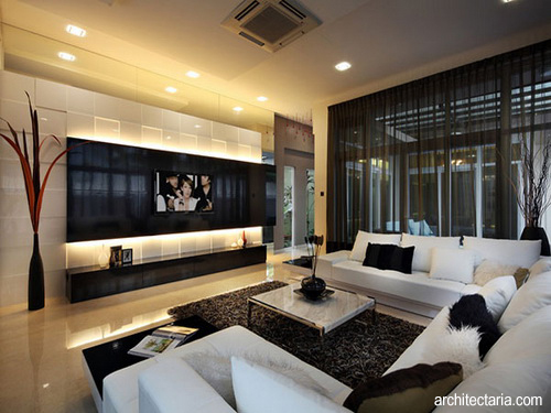desain interior ruang tamu baru pindahan 1