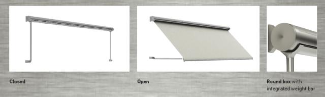 ilios pivot arm awning details