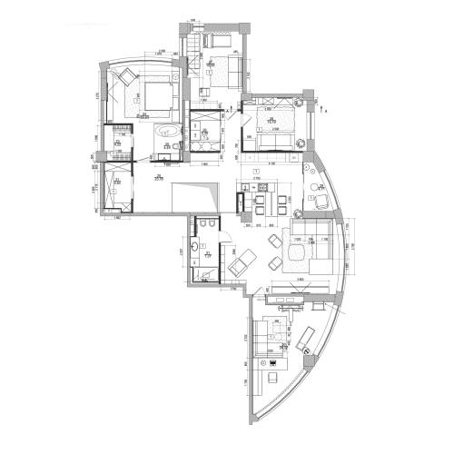 Medium Crop Of Modern Apartment Floor Plan
