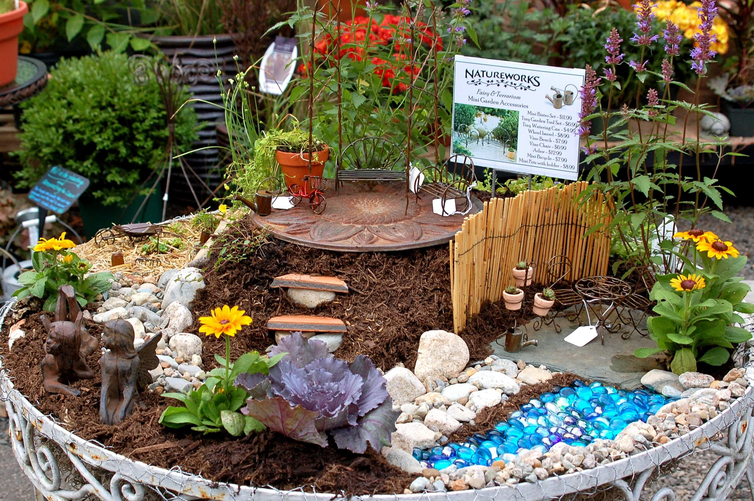 Fullsize Of Fairy Garden Waterfall