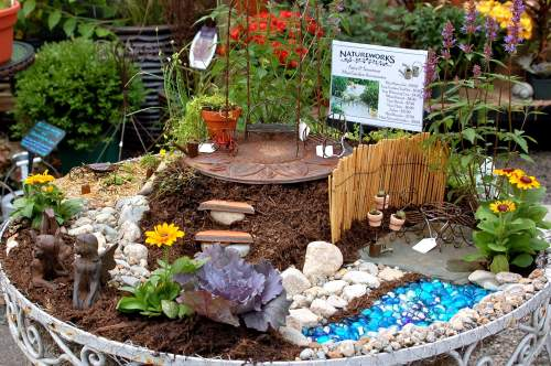 Medium Of Fairy Garden Waterfall