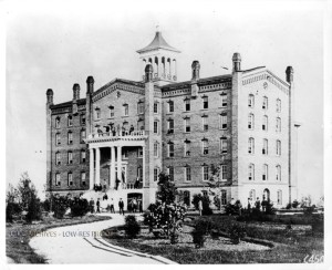 Old University Building, ca. 1870