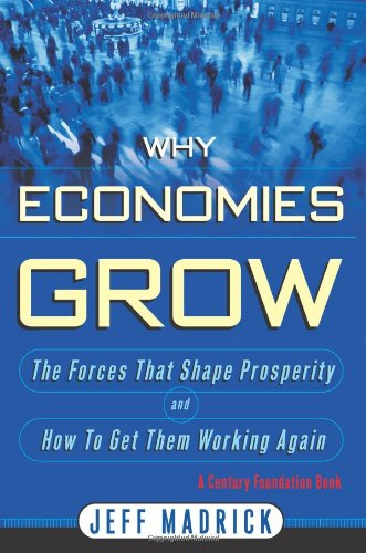 why economies grow book cover