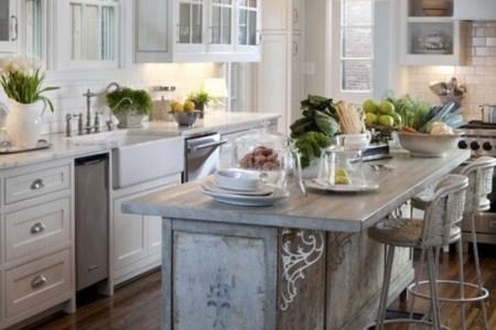 cuisine %c3%a9quip%c3%a9e avec ilot central cuisine en bois et blanc