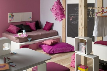 farbgestaltung schlafzimmer rosige nuancen