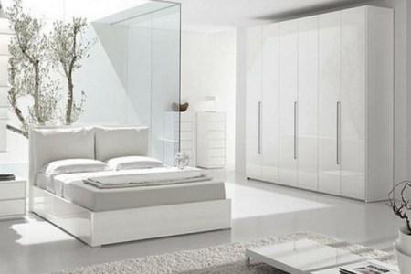 Schlafzimmer Ideen In Weiß 75 Moderne Einrichtungen. Richten Sie ...