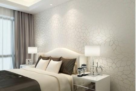 tapeten farben ideen wei%c3%9fe wand im schlafzimmer