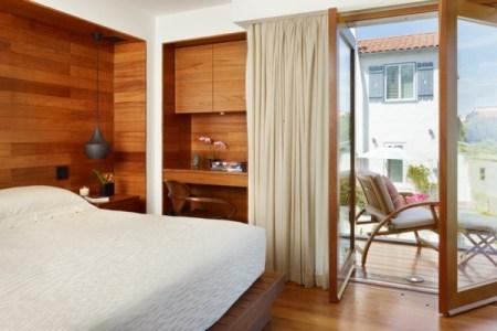 kleines schlafzimmer einrichten gro%c3%9fes fenster
