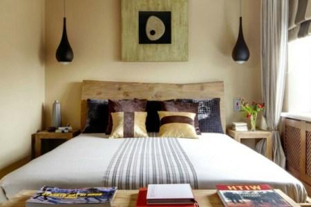 kleines schlafzimmer einrichten sehr bequemes bett