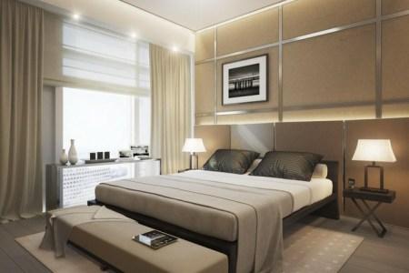 kleines schlafzimmer einrichten modernes aussehen