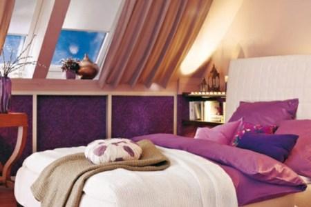 dachfenster schlafzimmer gardinen