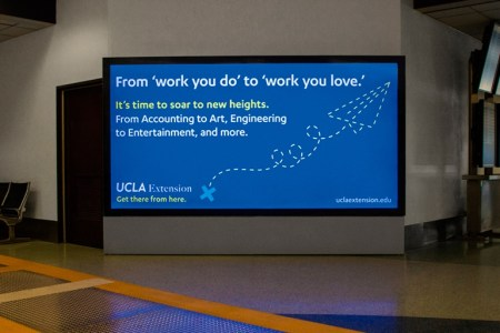 ucla extension digital ad airport