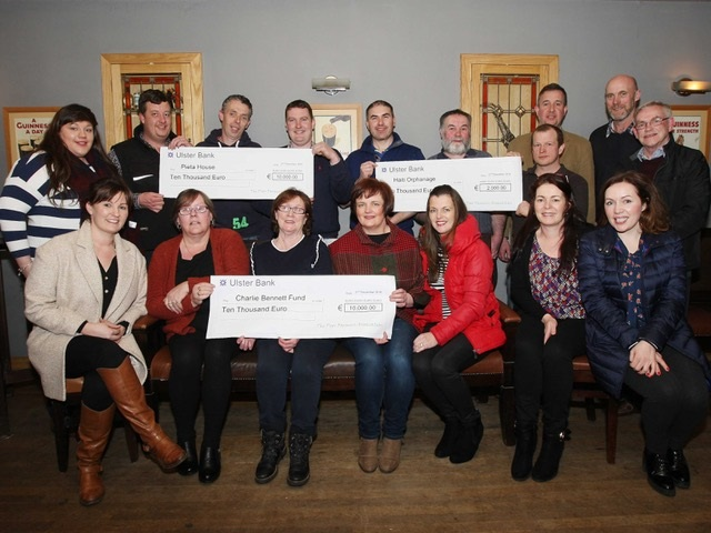 Ardara PFA presents cheques for €22,000