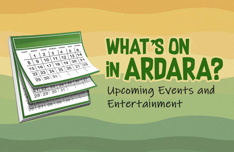 What's on Around Ardara?
