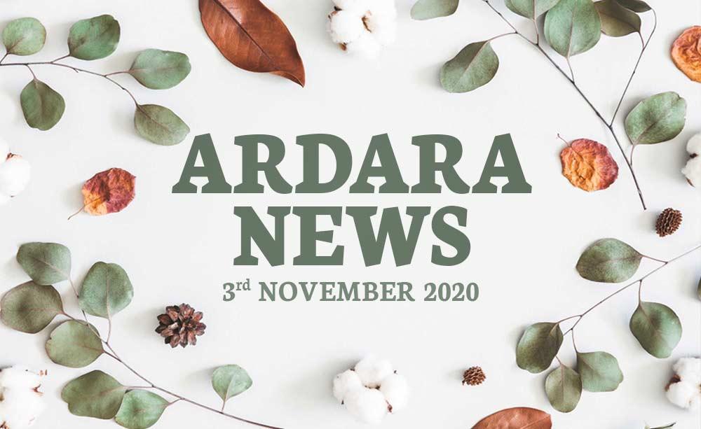 Ardara News 3rd November 2020