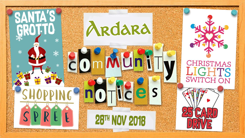 Community Notices 28th November 2018