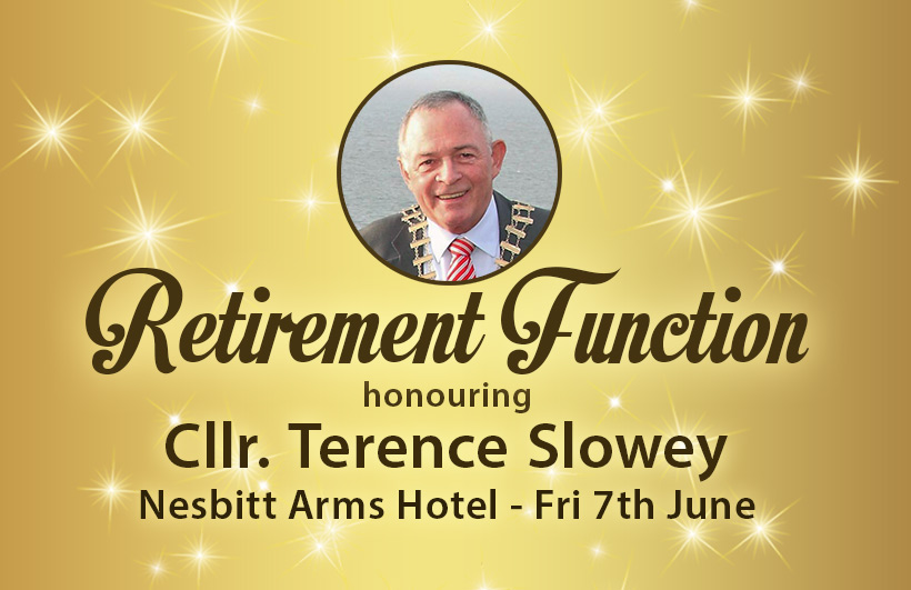Cllr. Terence Slowey Retirement Function