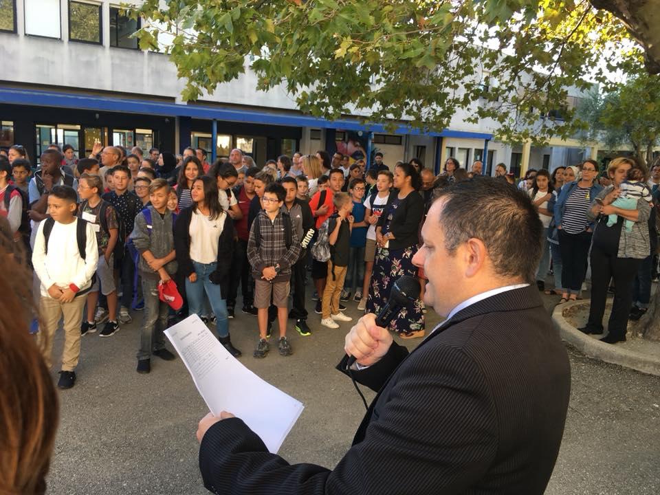 Rentrée 2018 : les Conseillers départementaux de la majorité en visite dans les collèges ardéchois