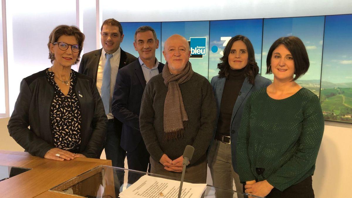 Martine Finiels, invitée de l'émission spéciale France Bleu-France 3 sur les préoccupations des français