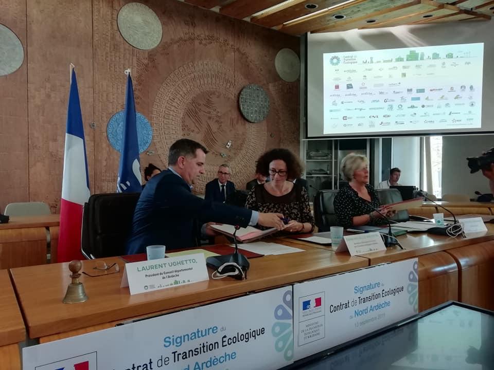 Signature du Contrat de Transition Ecologique avec l'Etat !