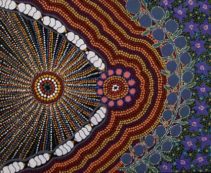 Aboriginal Artist Marilyn Armstrong