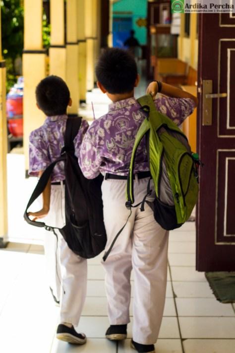 pulang sekolah