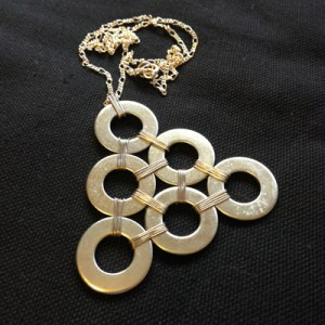Necklace out of washers