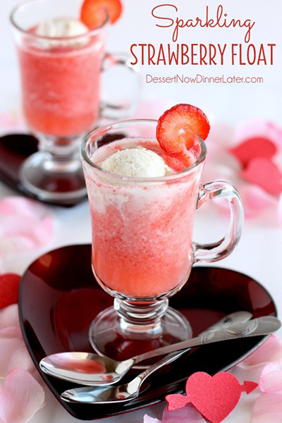 strawberry-float