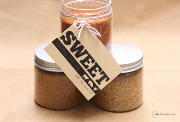 sweet dry rub recipe