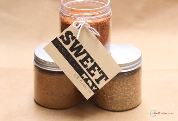sweet dry rub recipe