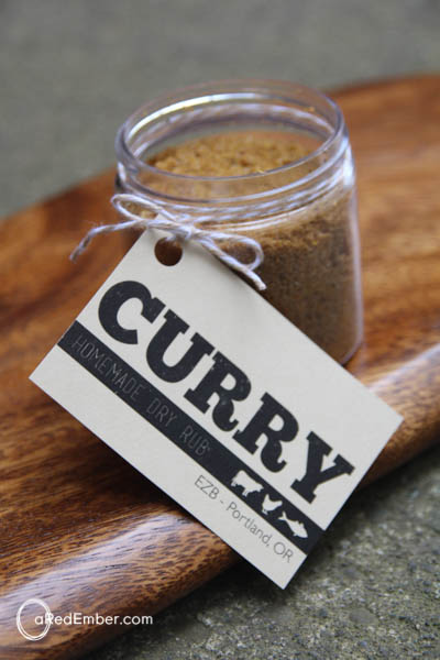 Curry Dry Rub