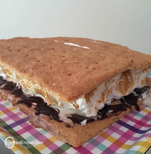 giant smore cake