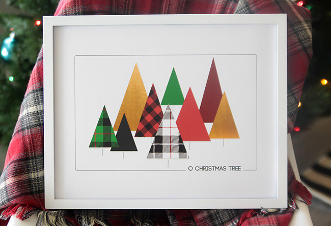 christmas-printable-art-wall-artwork-free-modern-plaid-2