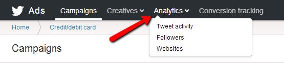 Twitter Ads Panel