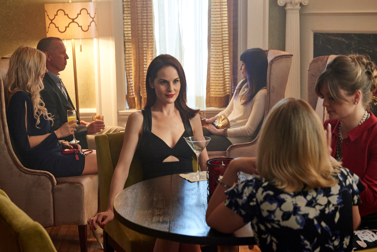 Downton's Michelle Dockery has a great time being bad in 'Good Behavior'