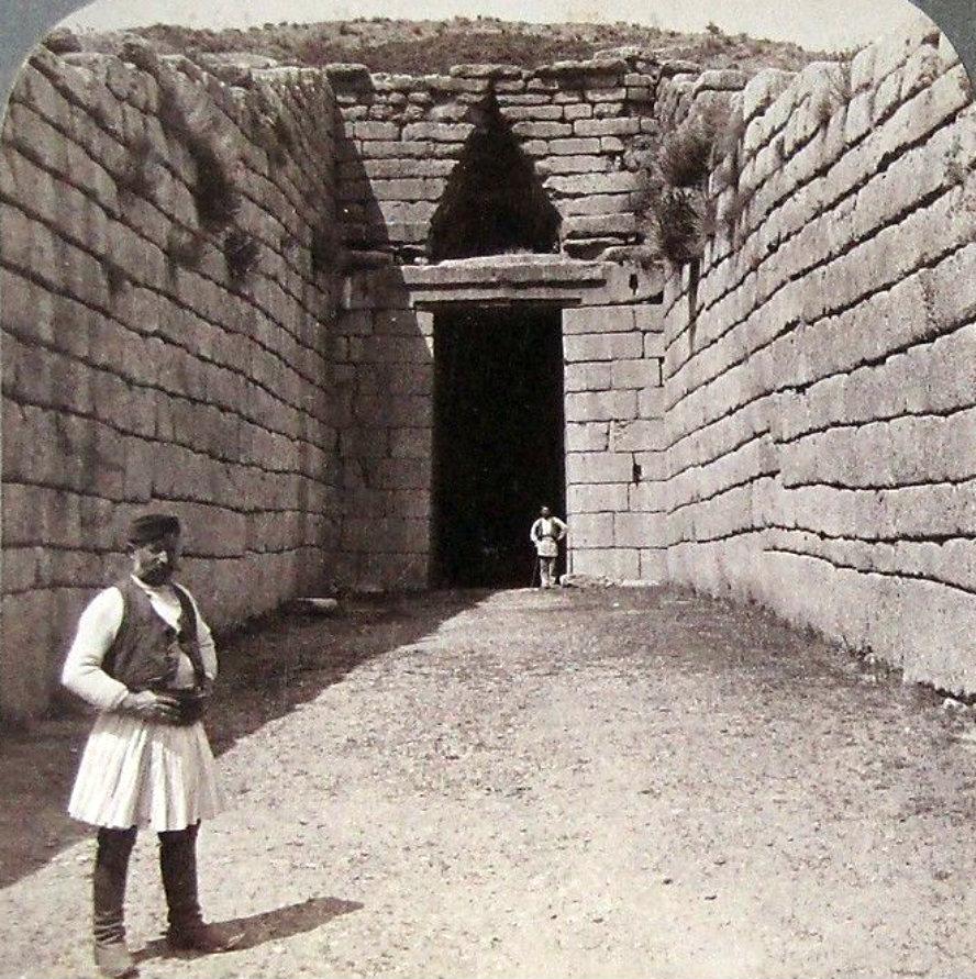 Μυκήνες, τάφος Ατρέα