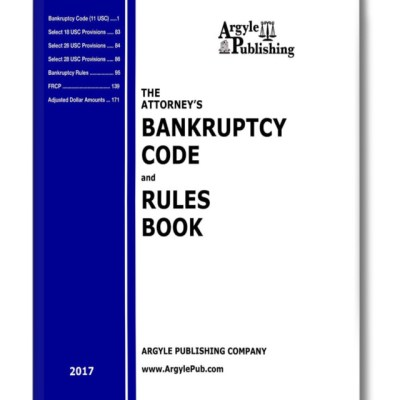 2017 Code and Rules Book