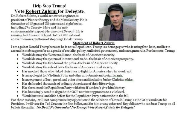 Zubrin Second Flyer