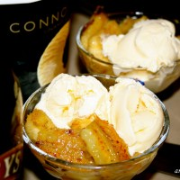 Resep Pisang Goreng dan Es Krim ~ Smokey Banana & Vanilla Ice Cream
