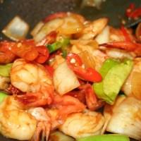 Sweet Chilli Prawns Recipe