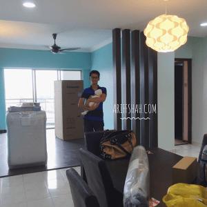ariff shah renovate rumah