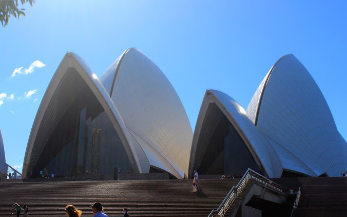 Yet another shot of the Sydney Opera House.