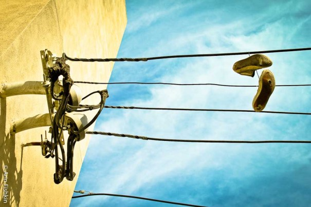 Shoes on Wires