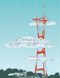 Sutro Tower San Francisco art print